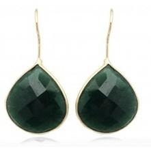 Tear Drop Aventurine Earrings | Jewelry Trends 2013 | Scoop.it