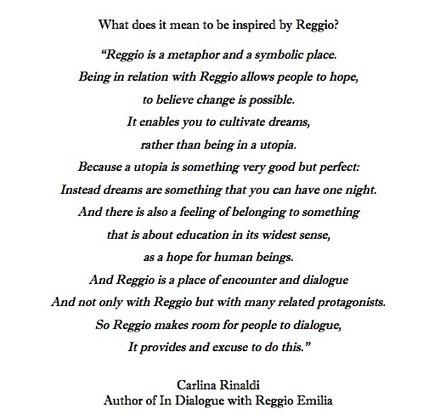 The Reggio Way | Reggio documentation | Scoop.it
