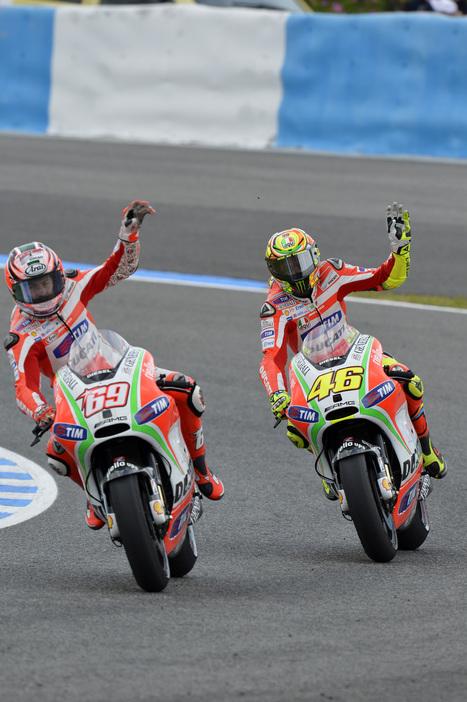 Hayden, Rossi eight and ninth in Spanish Grand Prix | Ducati.net | Ductalk Ducati News | Scoop.it