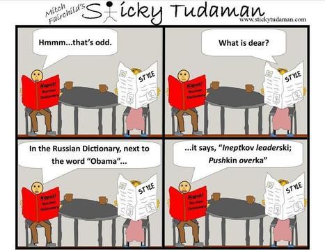 Sticky Tudaman: Ineptkov Leaderski | Political Humor | Scoop.it