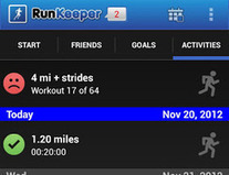 Free Download RunKeeper for Android Smartphone   Software   Scoop.it