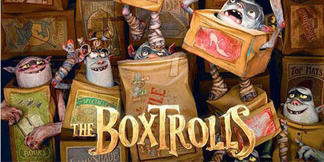Teaser Trailer for The Boxtrolls Released | Cartoons for Kids | Scoop.it
