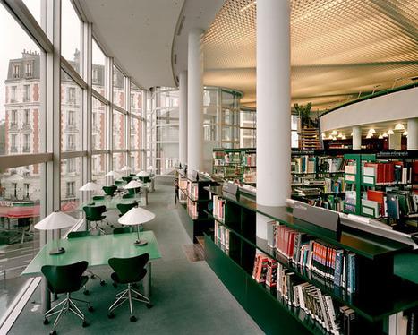 Bibliothèques parisiennes / Action artistique de la ville de Paris   Architecture des bibliothèques   Scoop.it