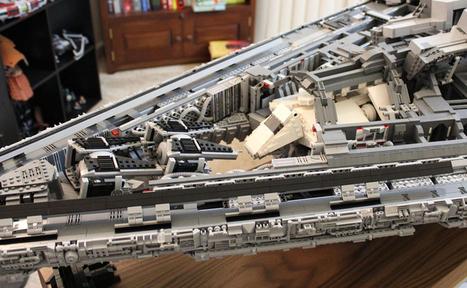Star Wars : Ce Destroyer stellaire en LEGO est tout simplement… Impérial | Heron | Scoop.it