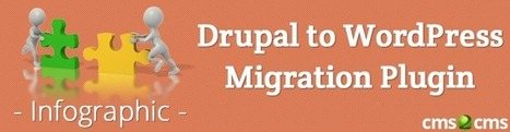 Drupal to WordPress Migration Plugin: All the Way Process [Infographic] - CMS2CMS | Blogger to WordPress Migration in 15 min with CMS2CMS | Scoop.it