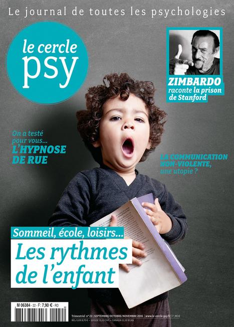 Les rythmes de l'enfant | Le Cercle Psy | Scoop.it