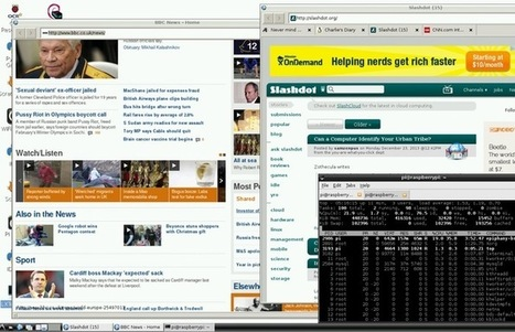 HTML5 Capable Raspberry Pi Web Browser Beta Unveiled | Raspberry Pi | Scoop.it