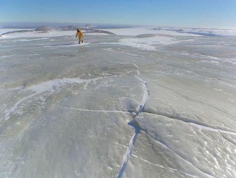 Rare sub-glacial water eruption or Jökalhlaup in Antarctica | Conformable Contacts | Scoop.it