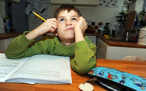 Homework 'damages' primary age pupils | The Future of Education  - Where do we go now? | Scoop.it