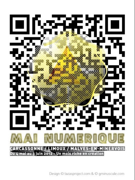 Mai Numérique 2012 by Tazasproject | QRdressCode | Scoop.it