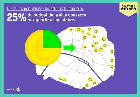 La Ville de Paris consacre 2 Milliards d'euros aux quartiers POPULAIRES | URBANmedias | Scoop.it