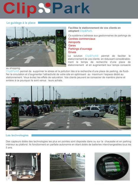 Newtech Concept | système guidage parking | Scoop.it