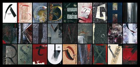 Alfabeto-a3 31x15 | Creativity | Scoop.it