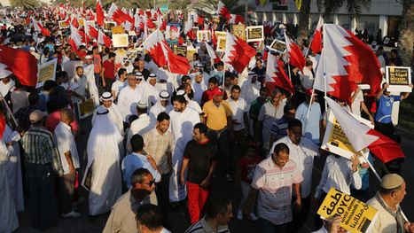 Bahrain election protest: Opposition group 'occupies' capital's downtown | Human Rights and the Will to be free | Scoop.it
