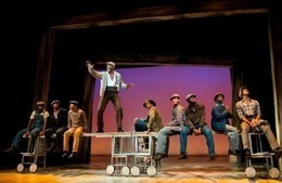 Review of The Scottsboro Boys at the Young Vic Theatre - London Theatre Guide - Online | Martyrs of the Civil Rights Movement | Scoop.it
