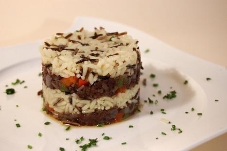 Arroz salvaje salteado con morcilla de Burgos | Gastronomía | Scoop.it