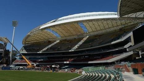 Race against time for Adelaide Oval upgrade to be finished for second Ashes Test in December | Mad about Cricket? | Scoop.it