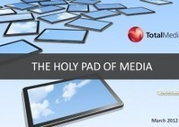 The impact of tablet on the media landscape   Audiovisual Interaction   Scoop.it