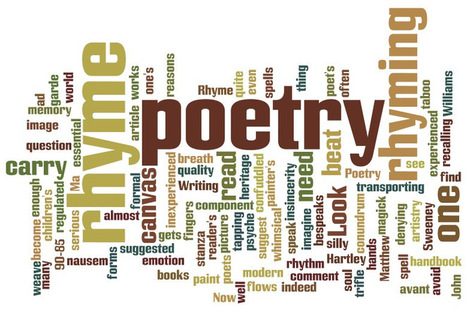 To Rhyme Or Not To Rhyme | Poetry | Scoop.it