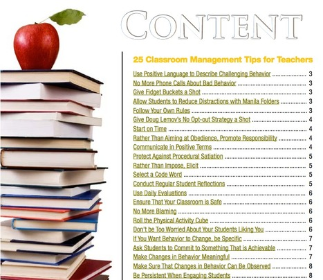 25 Classroom Management Tips<br/>for Teachers | Into the Driver's Seat | Scoop.it