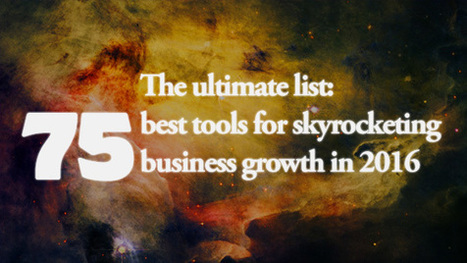 75 Best Tools for Skyrocketing Your Business Growth in 2016 – Snagit Guide | Snagit | Scoop.it