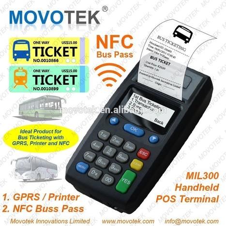 Movotek NFC POS Máquina de Billetes De Autobús y Recarga de Móviles-Terminal punto de venta-Identificación del producto:60275065585-spanish.alibaba.com | The last frontier of capitalism | Scoop.it