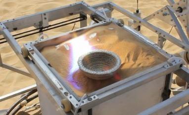 L'imprimante solaire 3D fonctionne au sable ! - Techniques de l'Ingénieur | communauté collaborative - innovation frugale - échange - récup | Scoop.it