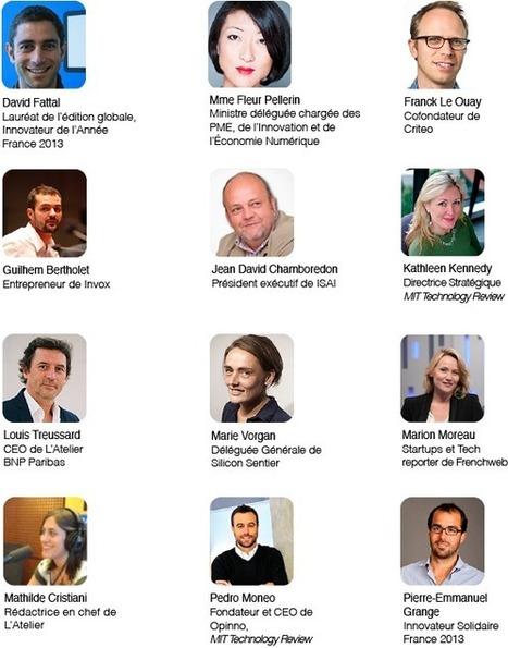 Événement : Innovateurs de moins de 35 ans France le 9 avril | Made in France: French Talents | Scoop.it
