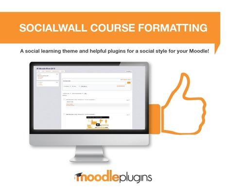 Moodle plugins: Set  - Socialwall course format | elearning stuff | Scoop.it