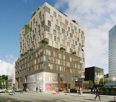 Brooklyn Cultural Experiment: A Contextual Mixed Use Development | green streets | Scoop.it