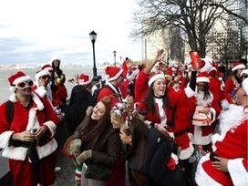 Drunken Santas Terrorized Lower Manhattan During SantaCon, Locals Say - DNAinfo.com | Show Prep | Scoop.it