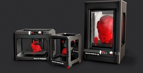 MakerBot announces 5th generation 3D printers at CES 2014 | 3D-Printing & Making | Scoop.it