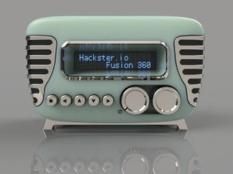 """Mini-Vintage"" Internet Radio 
