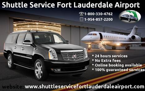 Finding An Airport Shuttle Service in Fort Lauderdale   shuttleservicefortlauderdaleairport   Scoop.it