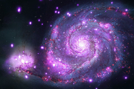 APOD: 2014 June 10 - M51: X Rays from the Whirlpool   tecnologia s sustentabilidade   Scoop.it