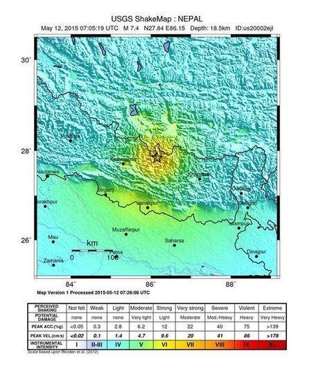 PANIQUE : Un nouveau séisme de forte magnitude frappe à nouveau le Népal | Chronique d'un pays où il ne se passe rien... ou presque ! | Scoop.it