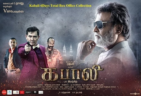 Kabali 6Days Total Box Office | Reviews | Scoop.it