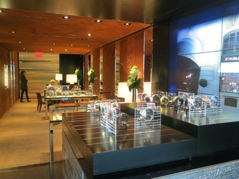 Inside HUBLOT in New York, and a Look at Six Extraordinary Watches - Haute Living | Watches, timepieces, and other jewelry | Scoop.it