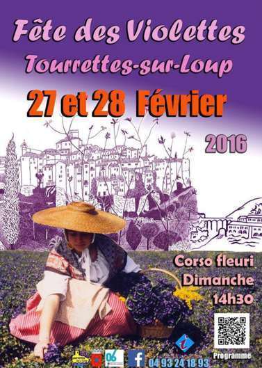 Fête des Violettes Tourrettes-sur-Loup, 06140 (Alpes-Maritimes) February 27th-28th 2016 | France Festivals | Scoop.it