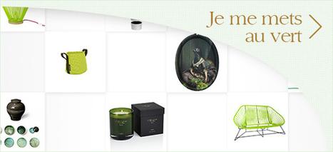 Objets déco design, idées cadeaux, mobilier, lampes et bougies parfumées | Web redactor | Scoop.it