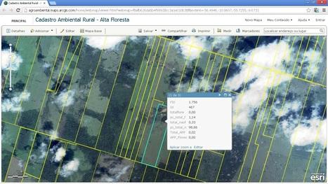 Cadastro Ambiental Rural | ArcGIS Solução Agroambiental - Alta Floresta | ArcGIS Geography | Scoop.it