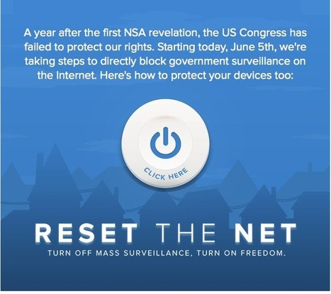 Reset the Net | Human Rights and the Will to be free | Scoop.it