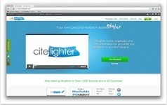 Educational Technology and Mobile Learning: Citelighter- An Indispensable Tool for Academics and Student Researchers | Cool School Ideas | Scoop.it