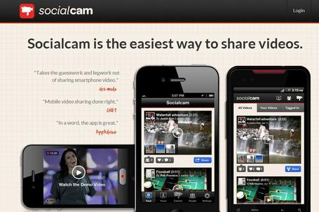 Socialcam | Social media kitbag | Scoop.it