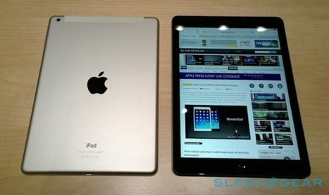 iPad Air hands-on.. for a minute | Technology News | Scoop.it