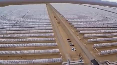 Le Maroc vient d'inaugurer une gigantesque centrale solaire | Afrique | Scoop.it