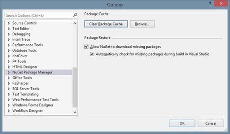 Migrate away from MSBuild-based NuGet package restore - xavierdecoster.com | Web Development | Scoop.it