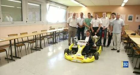 Canal 32 - IUT de Troyes : Champion de France de kart électrique !   Le fil d'actus de la semaine, dédié aux étudiants de l'URCA !   Scoop.it