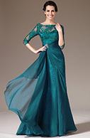[EUR 129,99] eDressit 2014 New Green Lace Top Half Sleeves Mother of the Bride Dress (26141305)   eDressit 2014 Nouveauté Magnifique Robe de Soirée en tendance   Scoop.it