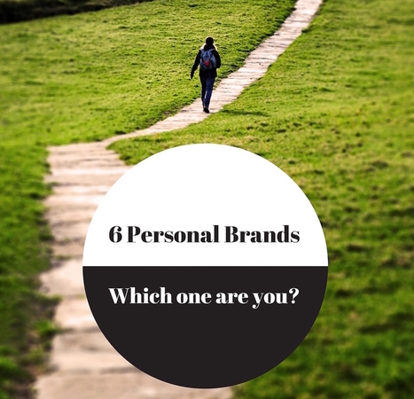 Six types of a personal brand. Which one are you? | presentarsi come si deve | Scoop.it